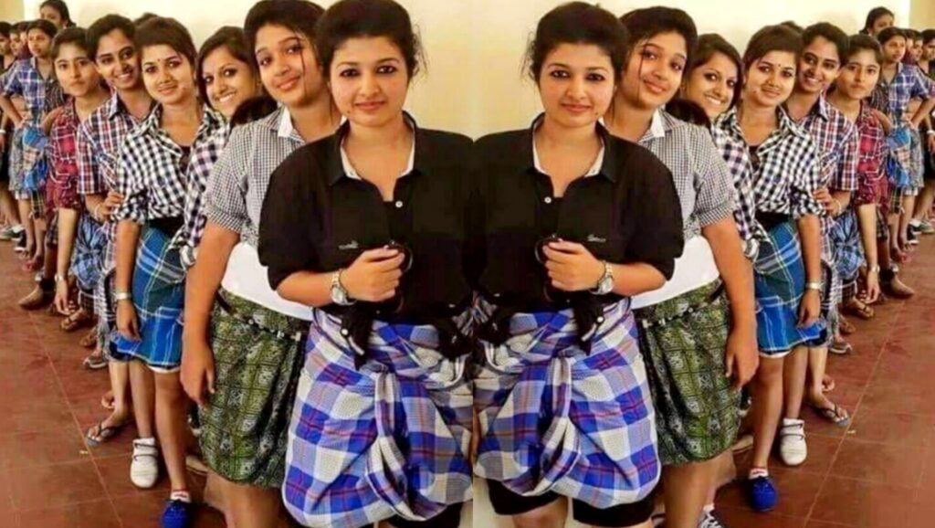 Kerala Medical College banned jeans, girls came in lungis