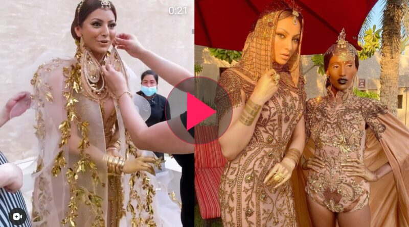 Urvashi Rautela Dresses like Cleopetra dress is very expensive, Viral