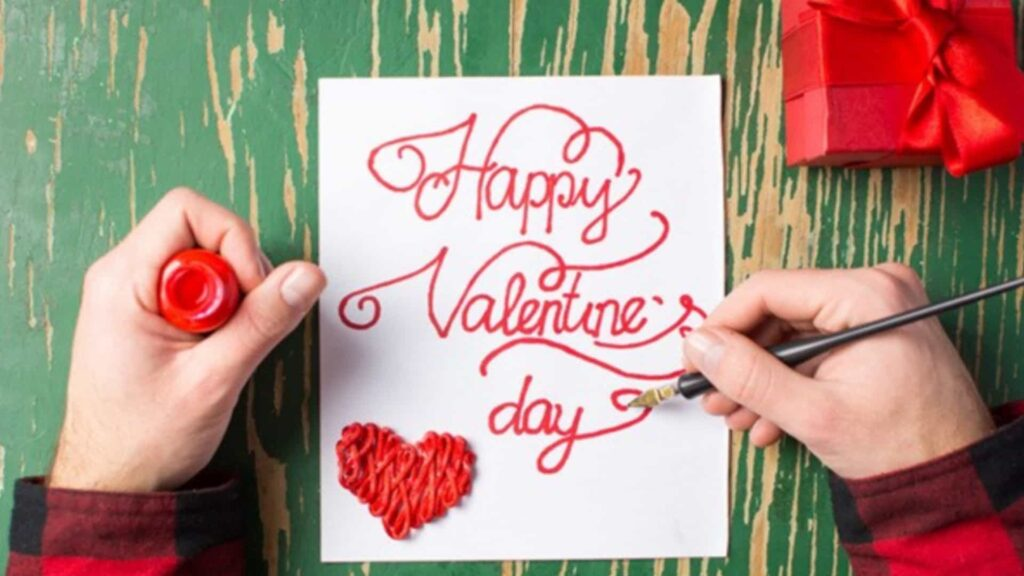 Make a Homemade Card for Someone: 10 Romantic Ways to Celebrate Valentine's Day and Make Special.