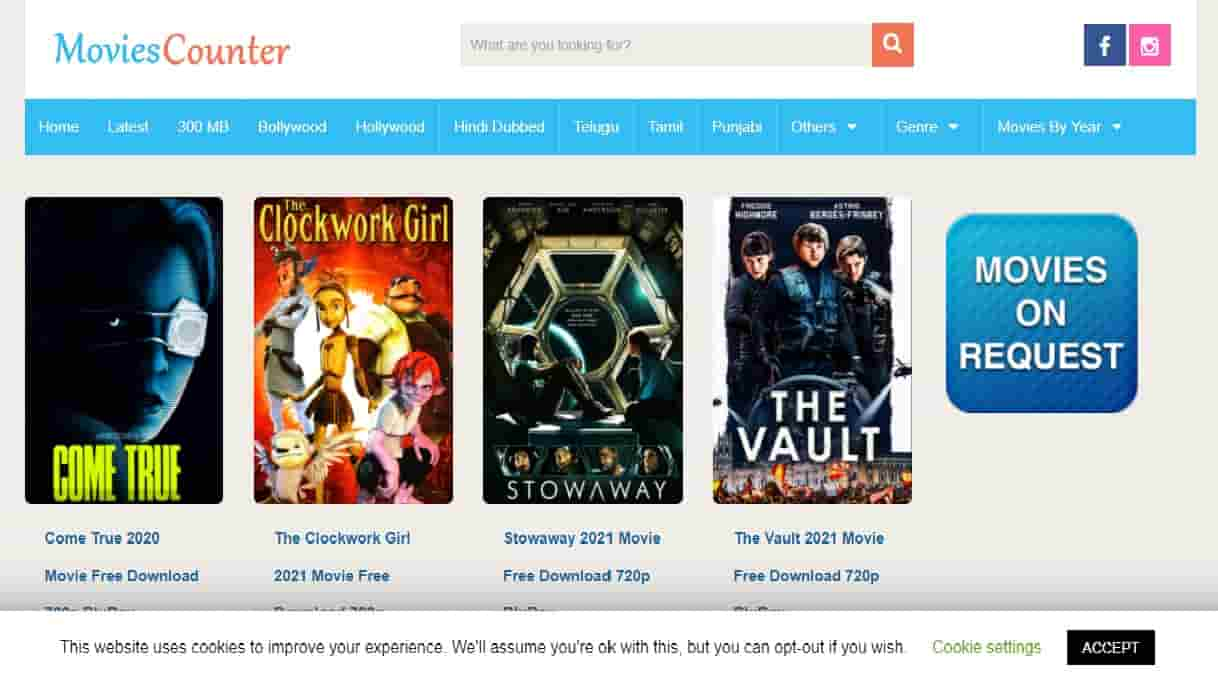 Moviescounter - Movies Counter Download Site Latest Movie HD